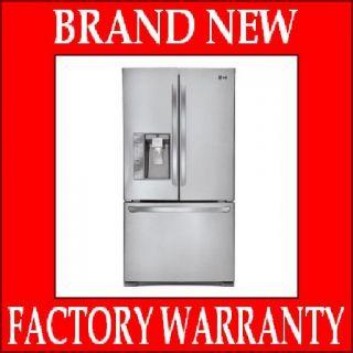 Steel French Door Refrigerator LFX31925ST 31cu ft asis Energy Star