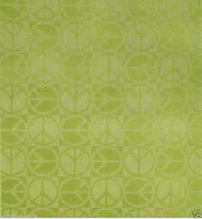 PeaceLime Green 5x7 LRG Rug Campus Dorm Teen Hippie