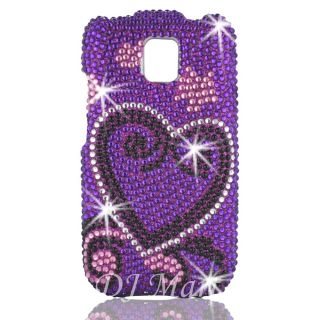 LG Optimus T P509 Diamond Bling Phone Case Shell Cover