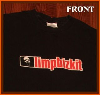 Limp Bizkit Rock Concert Tour T Shirt L