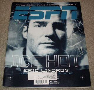 Eric Lindros ESPN Magazine February 21 2000 Flyers