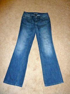 Ann Taylor Modern Fit Lindsay Waist Boot Cut Denim Jeans Womens Pant