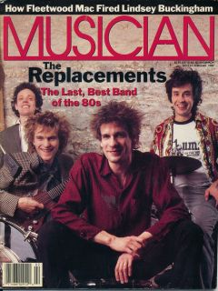 magazine 2 89 THE REPLACEMENTS LINDSEY BUCKINGHAM FLEETWOOD MAC LOVETT