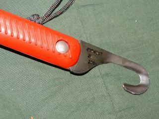 80s Paratrooper Airborne Chute Shroud Line Cutter Knife EXC