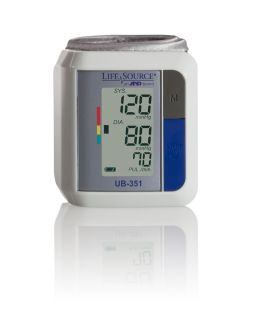 LifeSource UB 351 Automatic Wrist Blood Pressure Monitor
