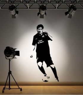 Lionel Messi Barcelona Wall Sticker Decal Footballer La Liga