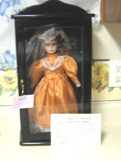 Collectible Ashley Belle Lisa Doll w Certificate Case