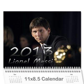 Lionel Messi Barcelona Argentina 12 Month 2013 Wall Calendar 13