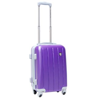 20 Rolling Carry on Luggage Wheeled Travel Suitcase Upright Spinner