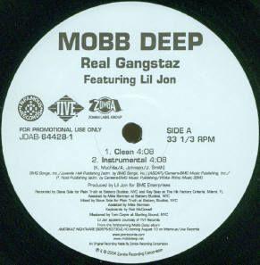 Mobb Deep Real Gangstaz 12 New Lil Jon