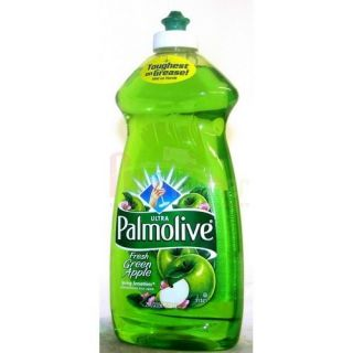Palmolive Concentrated Dish Liquid Detergent Green Apple Aroma Soap