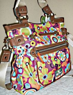 Handbag Lily Bloom Karma Recycled Plastic Tote Bottles Lg Hobo Gren