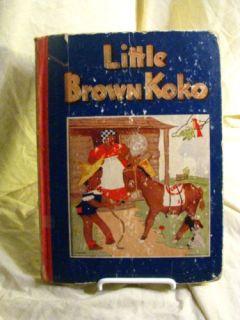 Little Brown Koko HB Black Americana Book RARE