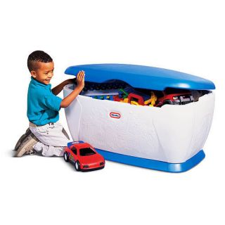 Little Tikes Kids Giant Big Toy Box Storage Chest New