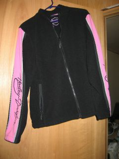 Womens Harley Davidson Pink Label Fleece Jacket