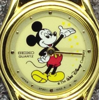 Little Disney Mickey Minnie Mouse Seiko Collection Character Watch Lot