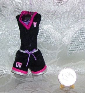 New Mattel Genuine Girl Wolf Monster High Dolls Volleyball Clothes
