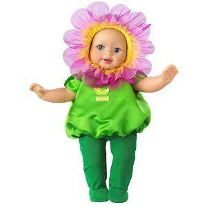 Fisher Price Little Mommy Baby Doll Sweet as Me Garden Party Flower