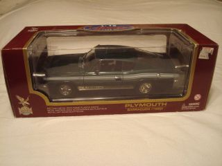 18th Scale 1969 Plymouth Barracuda by Road Legends