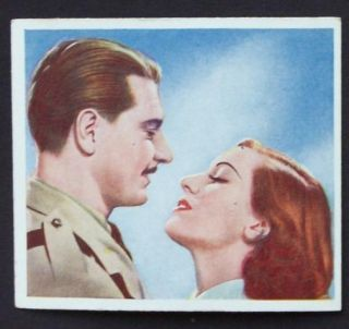 1939 Famous Love Scenes Roger Livesey Valerie Hobson The Drum