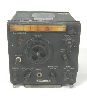 WWII Era CRR 74028 Navy Aircraft Radio Frequency Meter