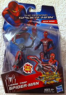 NEW IN PKG LIZARD TRAP SPIDER MAN WITH CAPTURE CLAW MOVIE SERIES FOR