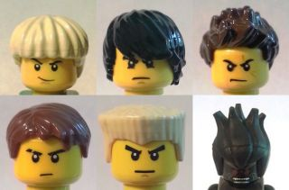 YOUR Lego NINJAGO Minifigures Jay Cole Zane Kai Lord & Lloyd GARMADON