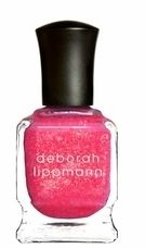 Deborah Lippmann Nail Polish Sweet Dreams Candied Pink 3D Holographic