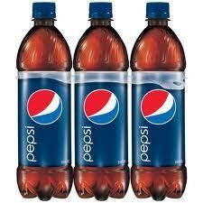 Pepsi Cola 24 Ounce 6 Pack Bottles U Pick Mountain Dew Same ozs as 12