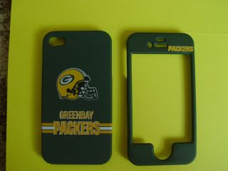 Greenbay Packers Apple iPhone 4 4G 4S Cell Phone Faceplate Case Cover