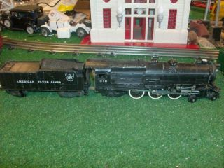 FLYER 316 PENNSYLVANIA RAILROAD DIE CAST LOCO AND TENDER   VERY NICE