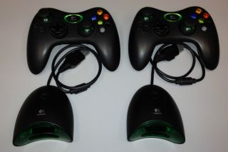 Logitech Wireless Xbox Controllers with 2 Receivers