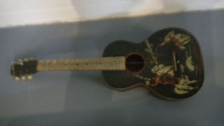 Lone Ranger Guitar and Case