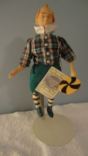 Wizard of Oz Lollipop Boy Doll by PRESENTS A Division of Hamilton