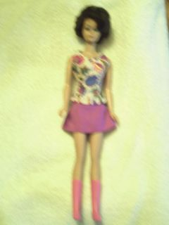 Vintage Midge 1958 Brunette Barbie Doll with Accesories