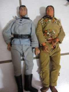 Vintage 1970s 1973 Lone Ranger Action Figures Dolls