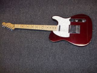 Look Fender Telecaster Made in Mexico w Case