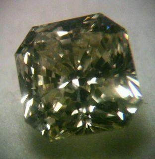 Natural Fancy Yellow Diamond 86 Carat Radiant Cut Loose Stone