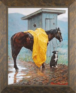 Rainy Days and Monday Lorimer Thomas Western Framed Print Pictures