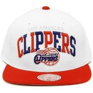 Los Angeles Clippers Snapback Hat Mitchell Ness NJ15Z