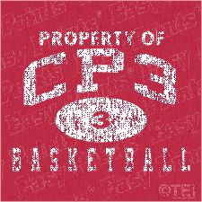 Los Angeles Clippers Chris Paul Property of CP3 Tshirt L