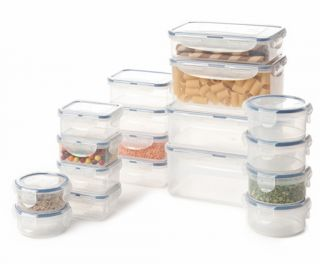 36 Piece Lock and Lock Food Storage Containers Kitchen Storage