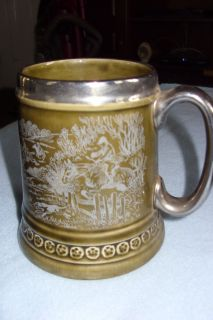 LORD NELSON POTTERY MADE IN ENGLAND VINTAGE BEER STEIN MUG TANKARD