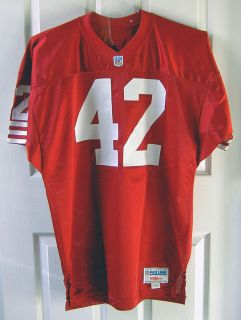 Official San Francisco 49ers Ronnie Lott Signed Jersey