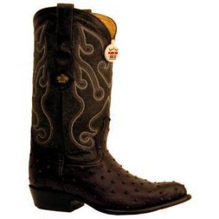 Los Altos Cowboy Boots Printed Ostrich J Toe