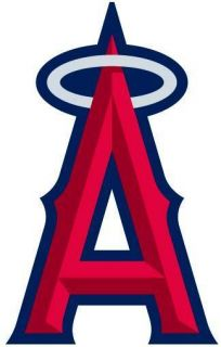 Nail Decals Art Set of 20 Los Angeles Angels of Anaheim