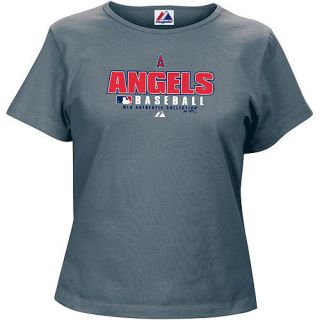 Los Angeles Angels of Anaheim Womens Majestic Baseball T Shirt