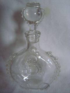 Remy Martin Louis XIII Cognac Bottle Decanter Baccarat Crystal Fleur