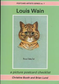 Louis Wain New Illustrated Catalogue 90 Sides