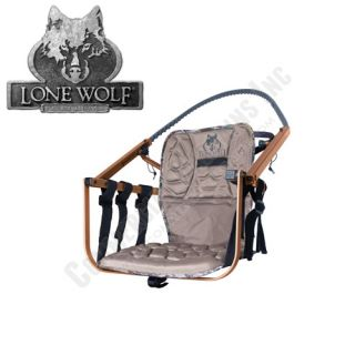 Lone Wolf Treestand Sit & Climb **Seat Only** Bow Deer Hunting Made in